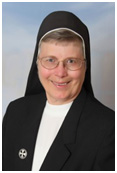 Sister Janice Iverson, OSB.