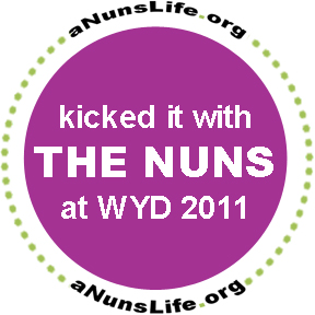 Kicked it with the Nuns at WYD 2011