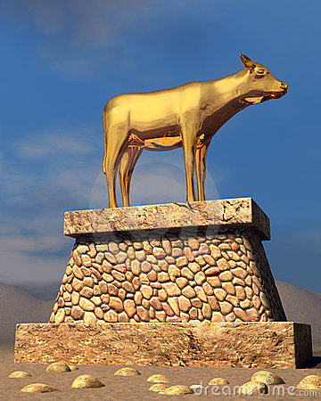 Golden Calf via dreamstime.com