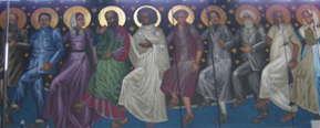 Dancing Saints, Saint Gregory of Nyssa Anglican Church, San Francisco